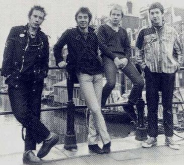 The Pistols in Amsterdam January 1977 (Don't Care collection)